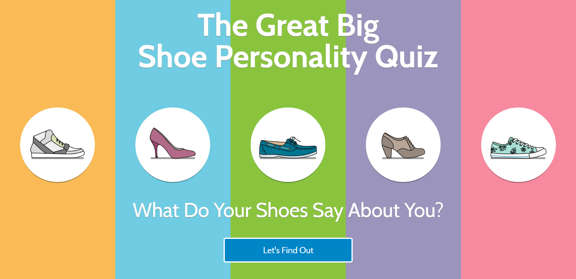The Big Shoe Personality Quiz