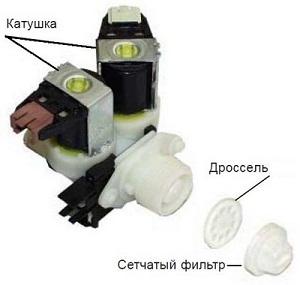 Водяной клапан стиральной машины