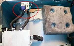 Клапана на стиральной машине.